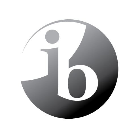 ib world school logo black tonal rev